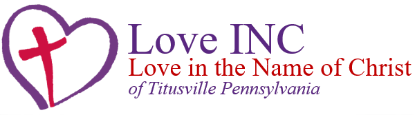 Love INC of Titusville Pennsylvania