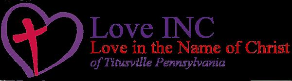 Love INC of Titusville Pennsylvania